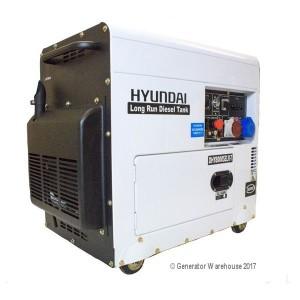 Hyundai DHY8000SELR-T Generator