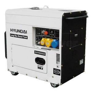 Hyundai DHY8000SELR Generator
