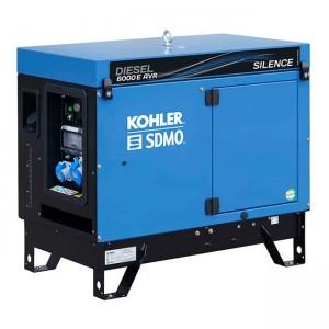 SDMO DIESEL 6000E SILENCE AVR  Generator