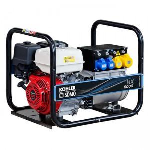SDMO HX6000 UK PETROL Generato Generator