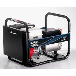 SDMO HX7500 T 3PH PETROL Gener Generator