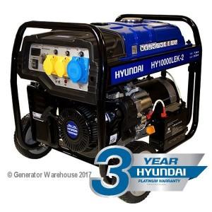 Hyundai HY10000LEK-2 Generator