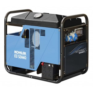 SDMO DIESEL 10000E UK SILENCE  Generator