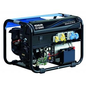 SDMO TECHNIC 6500 E AVR APM202 Generator