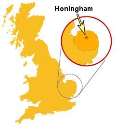 Honingham Map -